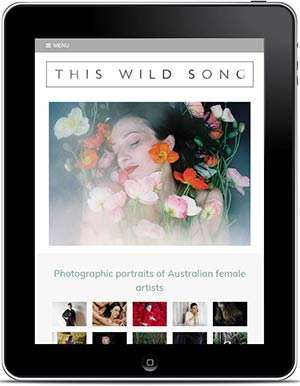 This Wild Song Website, Design And Wordpress Build By Birdhouse Digital
