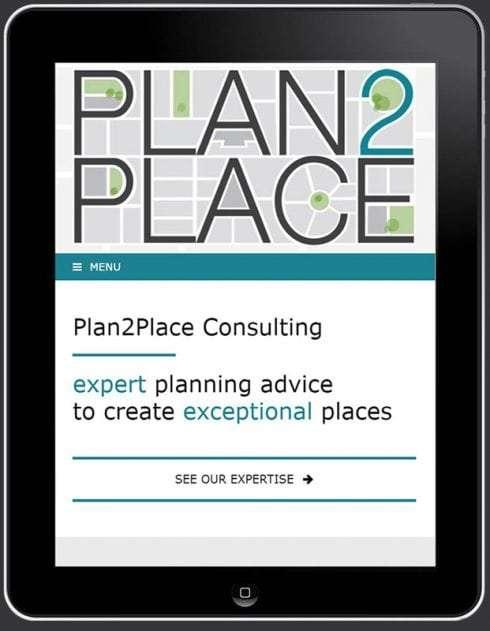 Plan2Place Website, Design And Wordpress Build By Birdhouse Digital