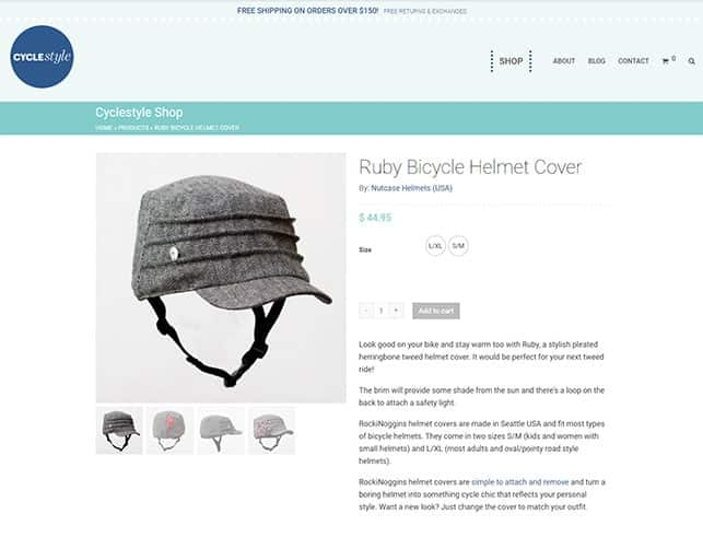 Cyclestyle Website, Design And Wordpress Build By Birdhouse Digital