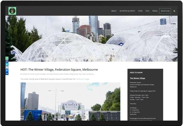Tot Hot Or Not Website, Design And Wordpress Build By Birdhouse Digital
