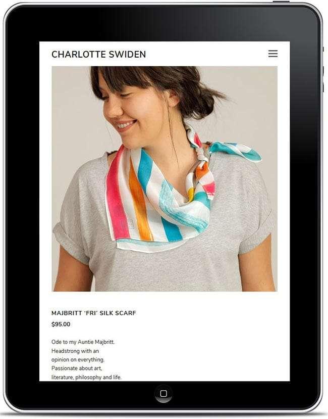 WordPress Website Build For Charlotte Swiden